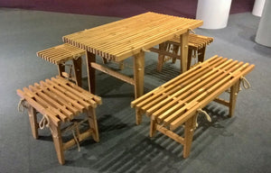 PicNic Table, Lärk, 120x80 cm