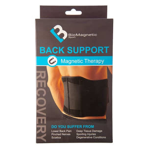 Magnetic Back Support - BioMagnetic Sport