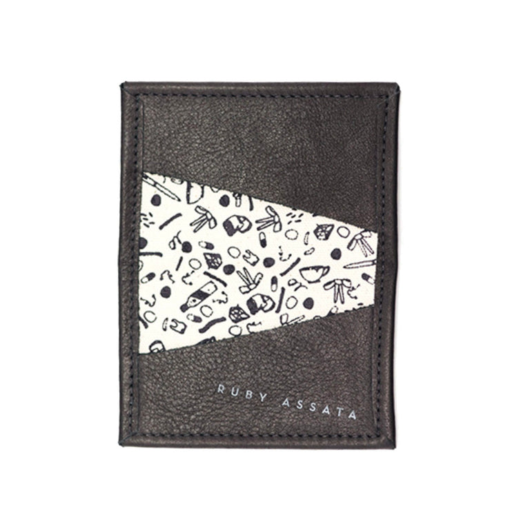 Not Tonight Black Tiny Wallet