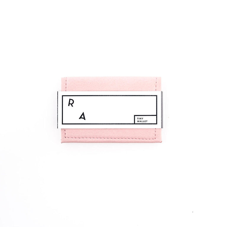 SALTWATER TAFFY PINK / VIOLET TINY WALLET