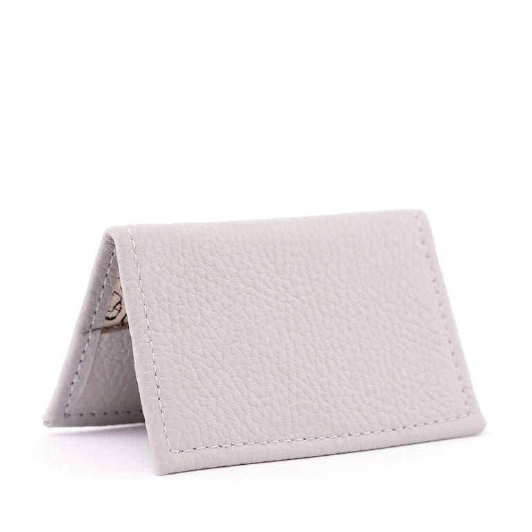 Cream Puff Gray Tiny Wallet