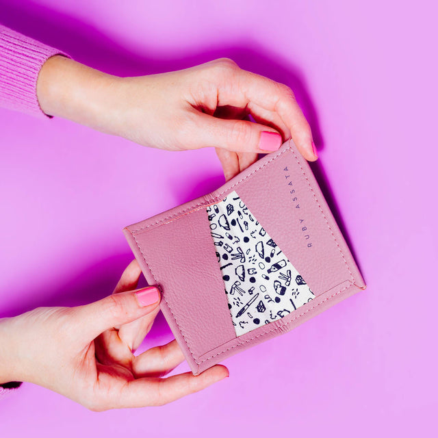 Ultra Ultra Violet Tiny Wallet
