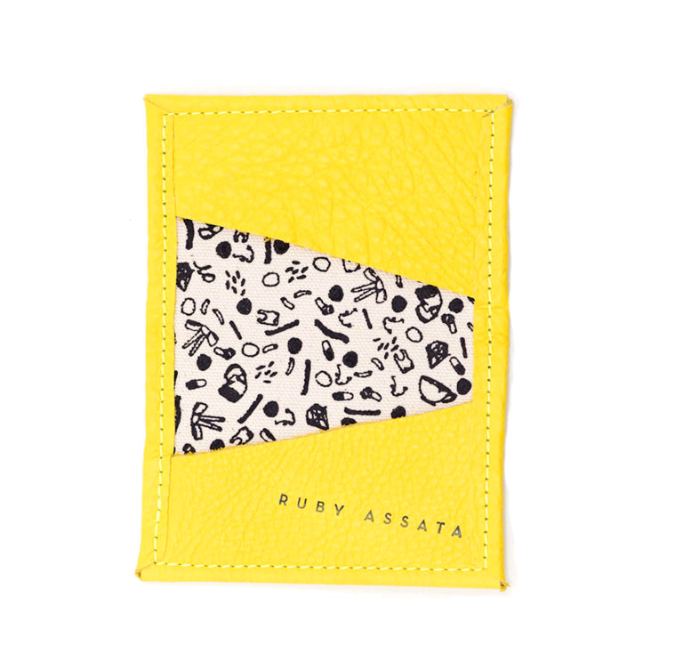 Slightly Bitter Yellow Tiny Wallet