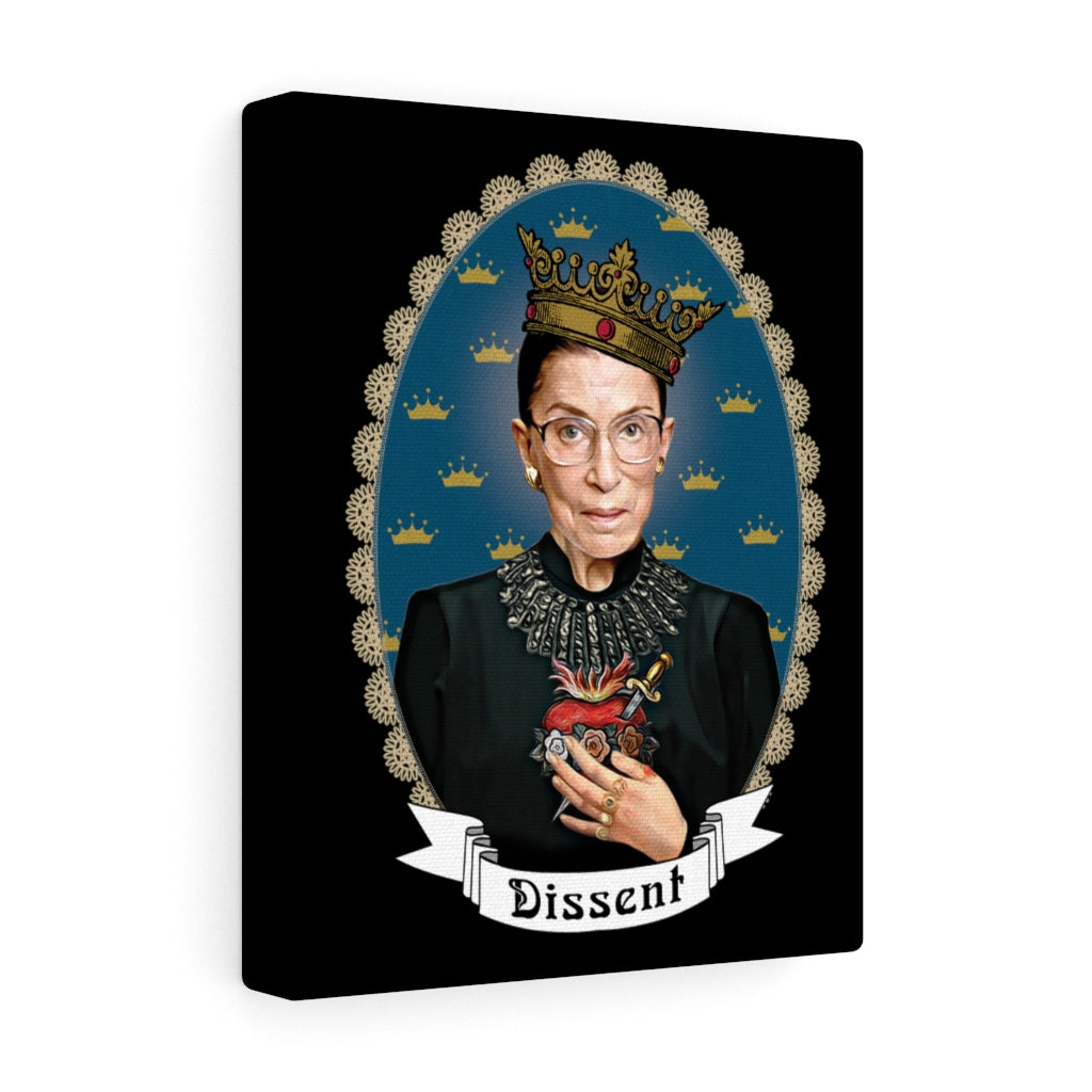 Our Lady of Dissent Canvas Print