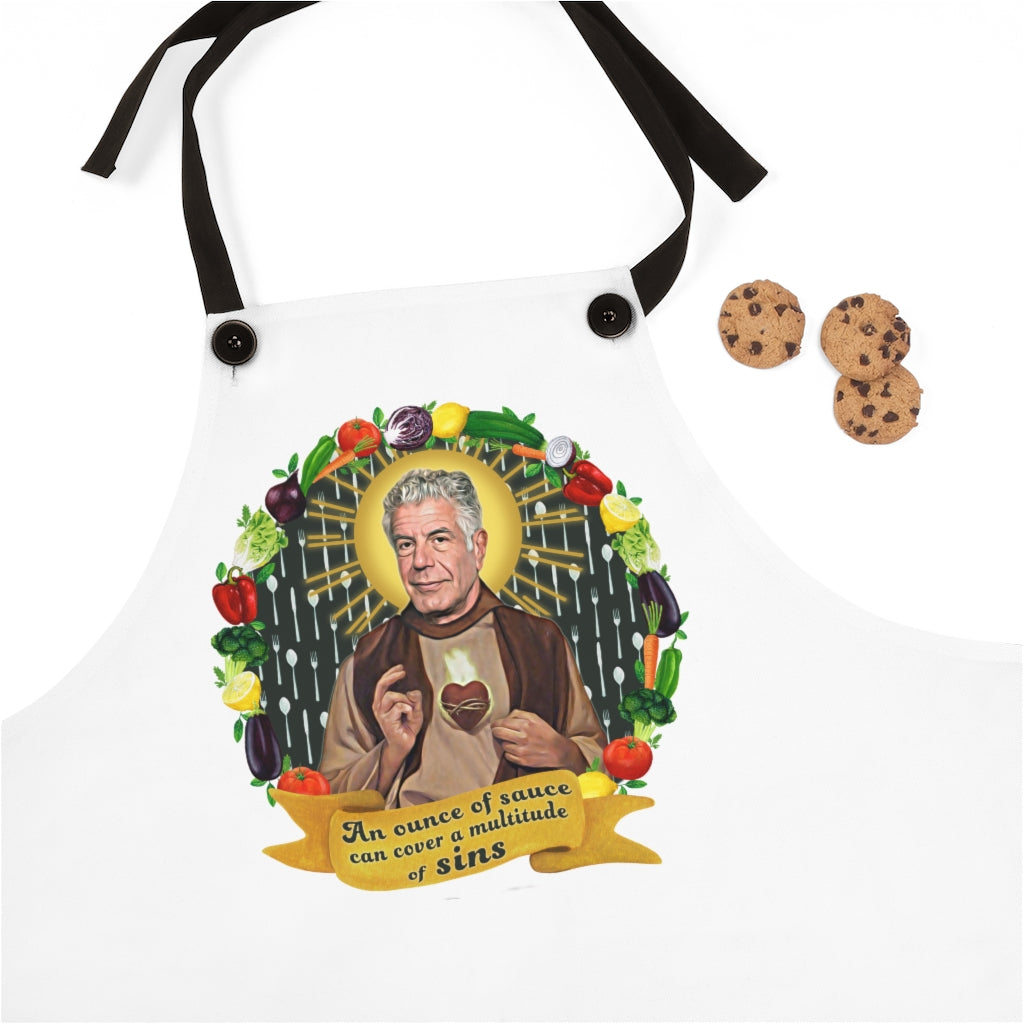 Patron Saint of Food and Life Apron