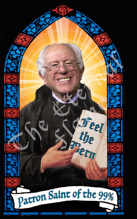 Patron Saint of the 99 Percent - Bernie Sanders