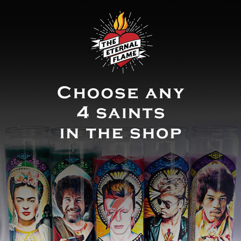 Choose any 4 saints in the shop