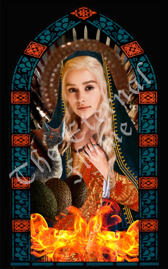 Patron Saints of Dragons and Winter - Game of Thrones