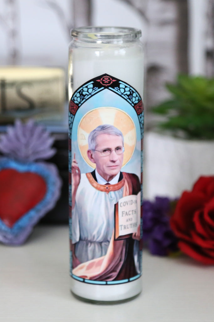 Patron Saint of Quarantine Prayer Candle