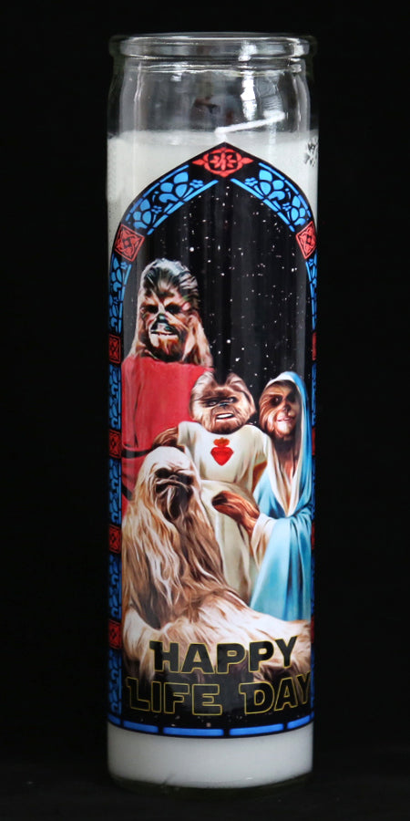 Star Wars Life Day Candle