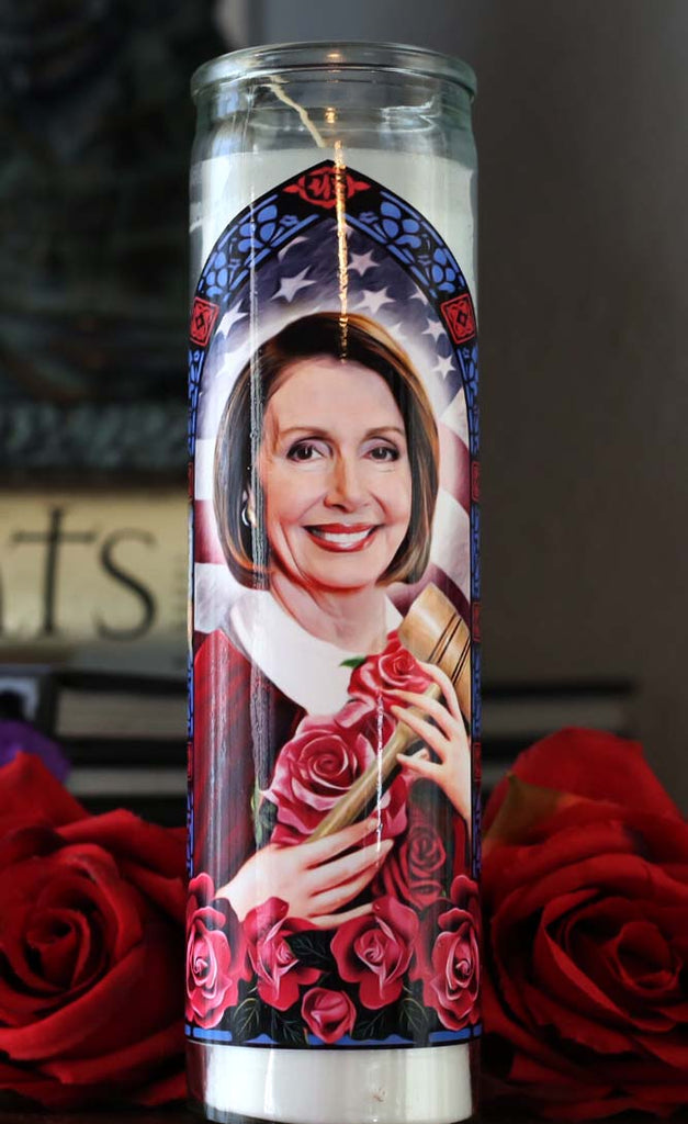 Saint Nancy Pelosi, Patron Saint of Impeachment