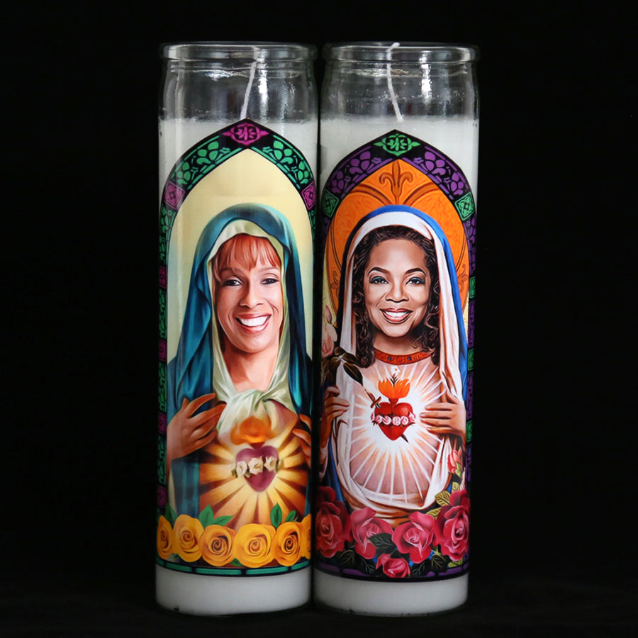 Saints Oprah and Gayle