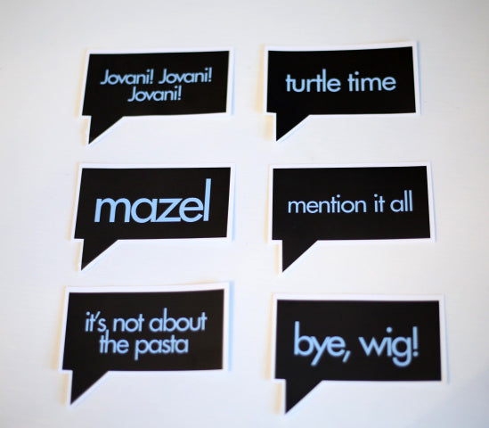 Stickers: Bravo Quotes
