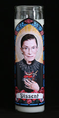 Ruth Bader Ginsburg dissent prayer candle