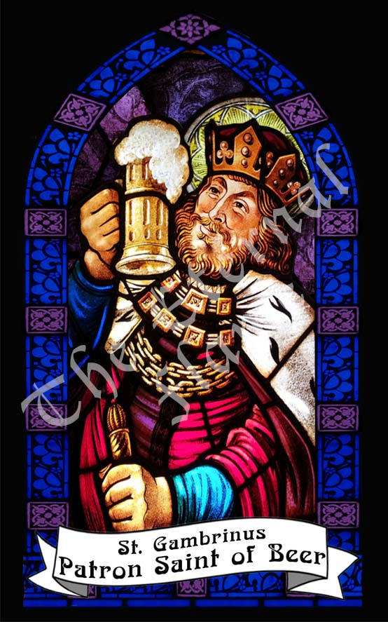 Patron Saint of Beer