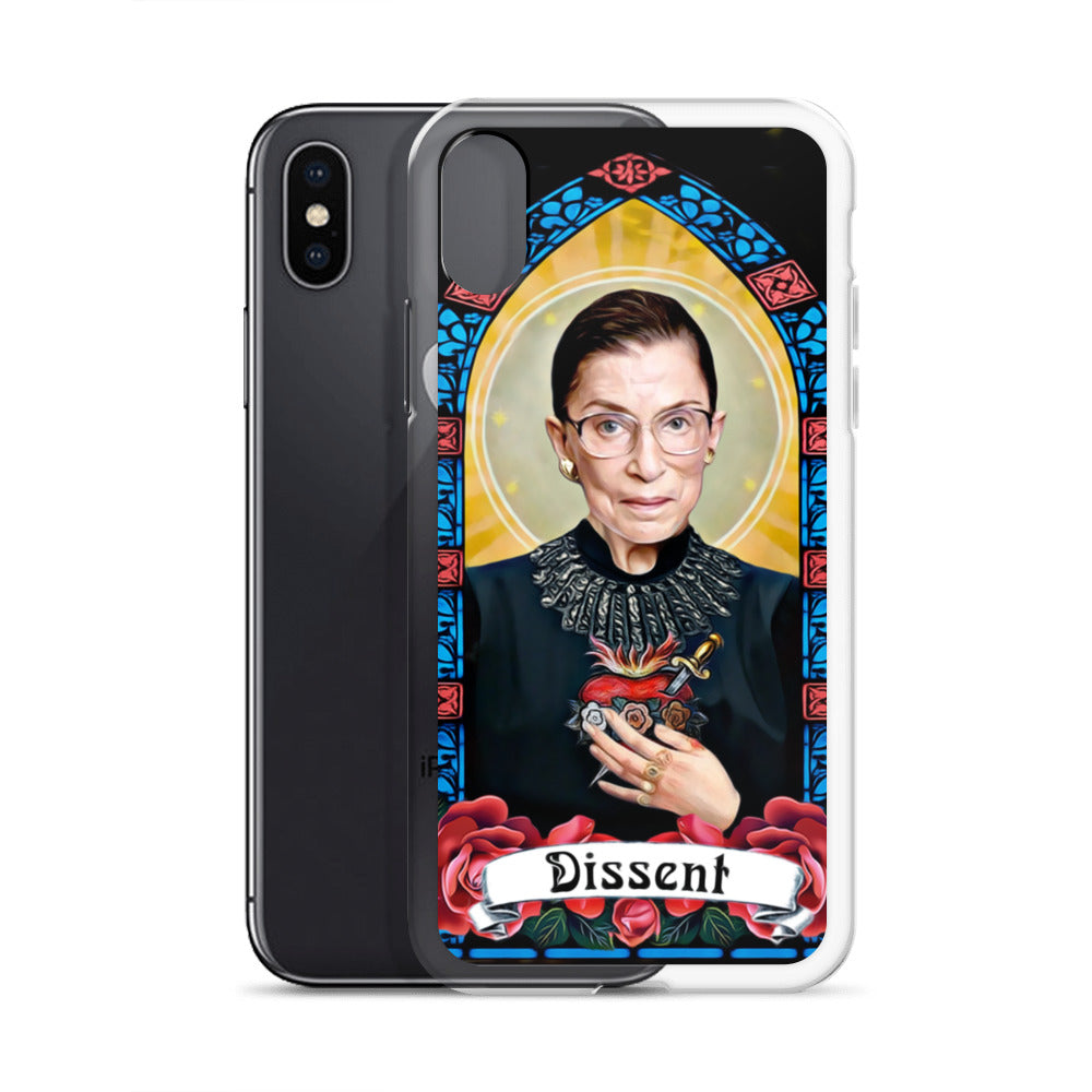 Saint RBG iPhone Case