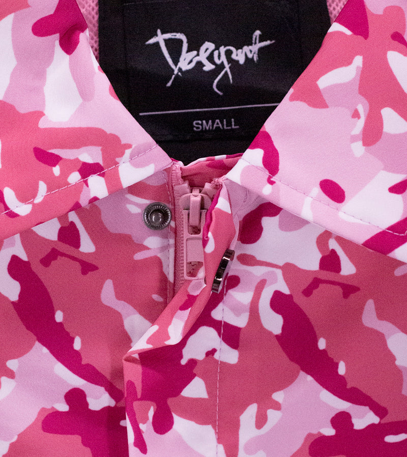 MEN DFYNT KUNG FU CAMO COACH JACKET