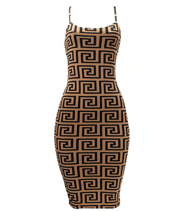 WOMEN DESIGNER INSPIRED BODYCON DRESS