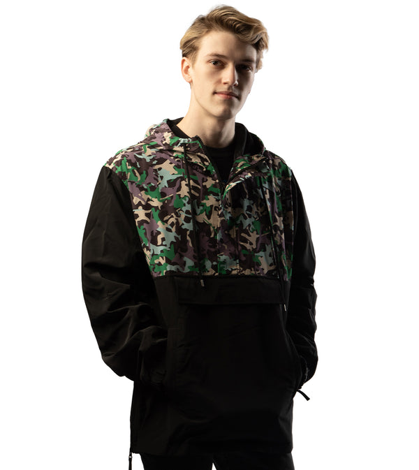 MEN KUNG FU ANORAK WINDBREAKER BY DFYNT