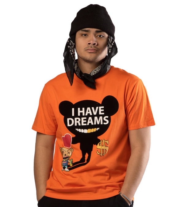 MEN I HAVE DREAMS GRAPHIC SHORT SLEEVES T-SHIRTS BY SWITCH
