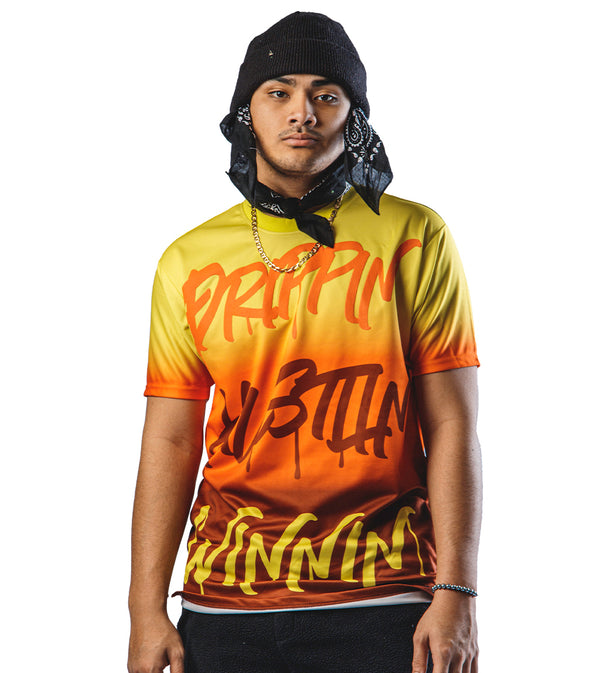 MEN DRIPPIN, HUSTLIN, WINNIN SHORT SLEEVE T-SHIRT BY VICTORIOUS