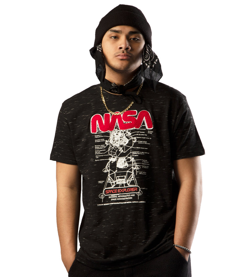 MEN NASA SHORT SLEEVES T-SHIRTS BY WT02