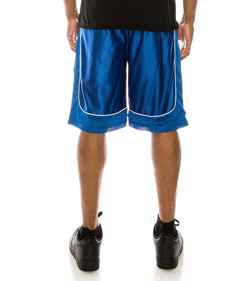 MEN DAZZLE AIR-MESH BASKETBALL SHORTS - ROYAL BLUE