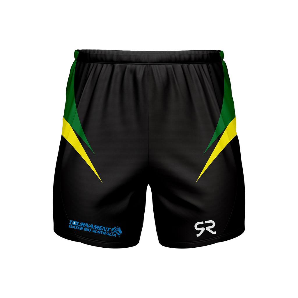 LADIES AUSTRALIAN WATERSKI TEAM SUPPORTERS SHORTS