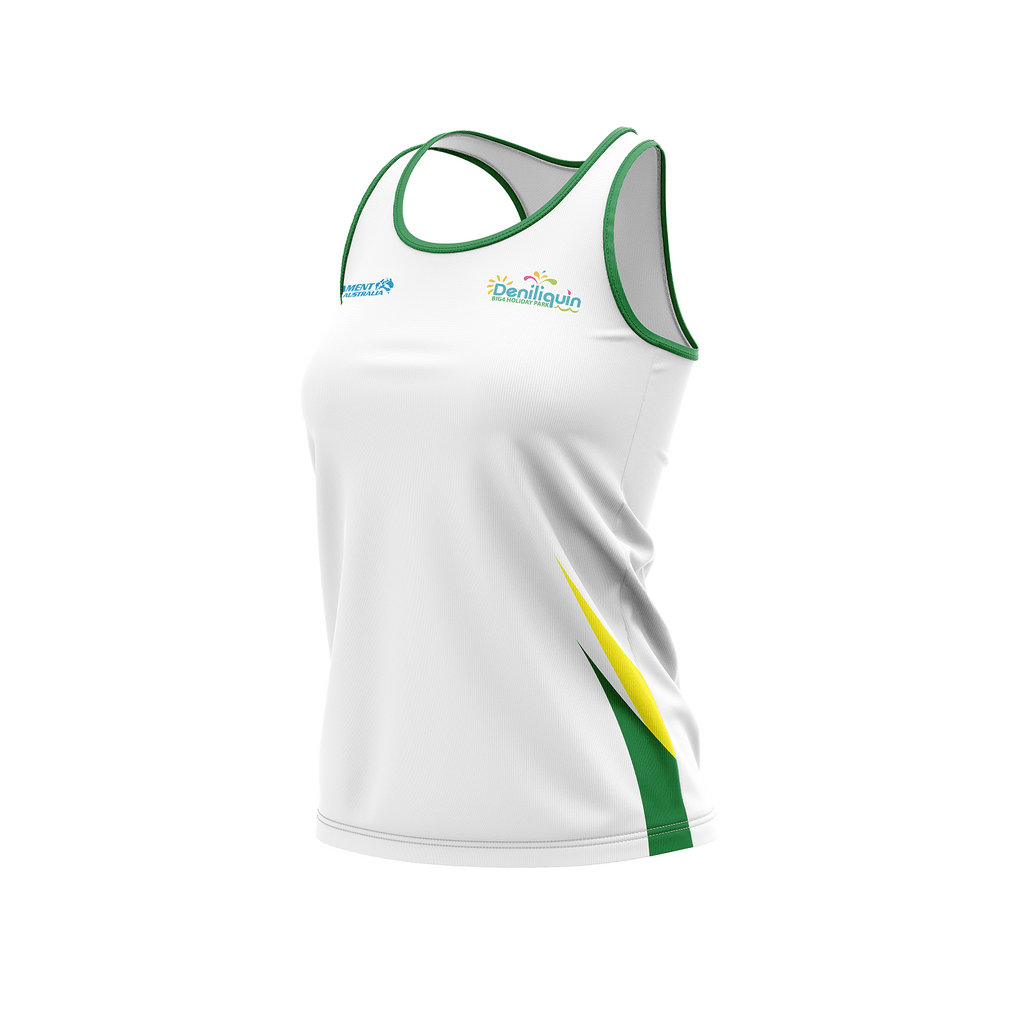 LADIES AUSTRALIAN WATERSKI TEAM SUPPORTERS SINGLET