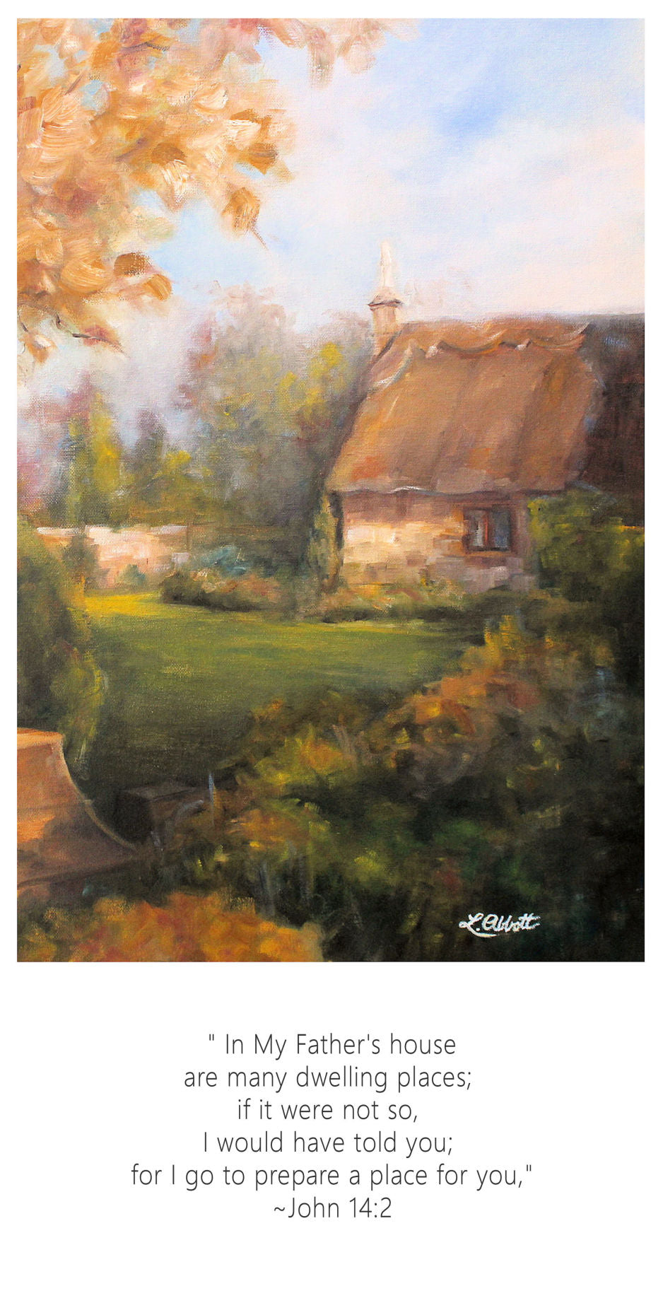 In My Father's House, Art-Scripture Giclee