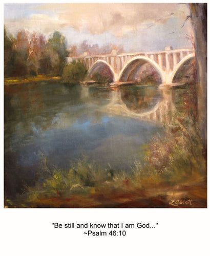 Be Still, Art-Scripture Giclee