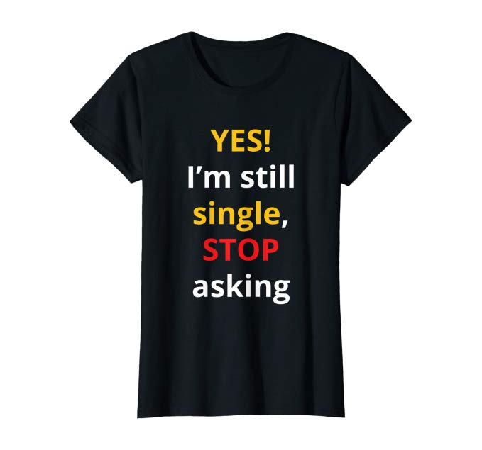 STOP Asking T-Shirt (fitted)