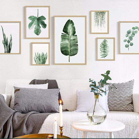 Green Plant Wall art - Zandes