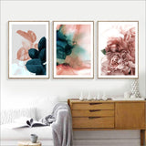 Floral Wall Art Canvas Painting Prints - Zandes