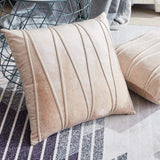 Velvet Striped Cushion Covers - Zandes
