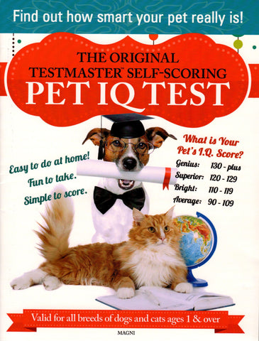 Pet IQ Test