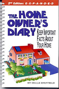 Home Owner's Diary - Real Estate Closing Gift
