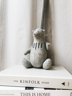 Home Decor - Stuffed Felt Bear