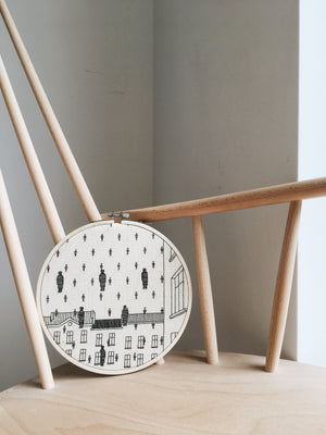 "Architectual Embroidery - Collections ""Painters"" and ""Mountains"""