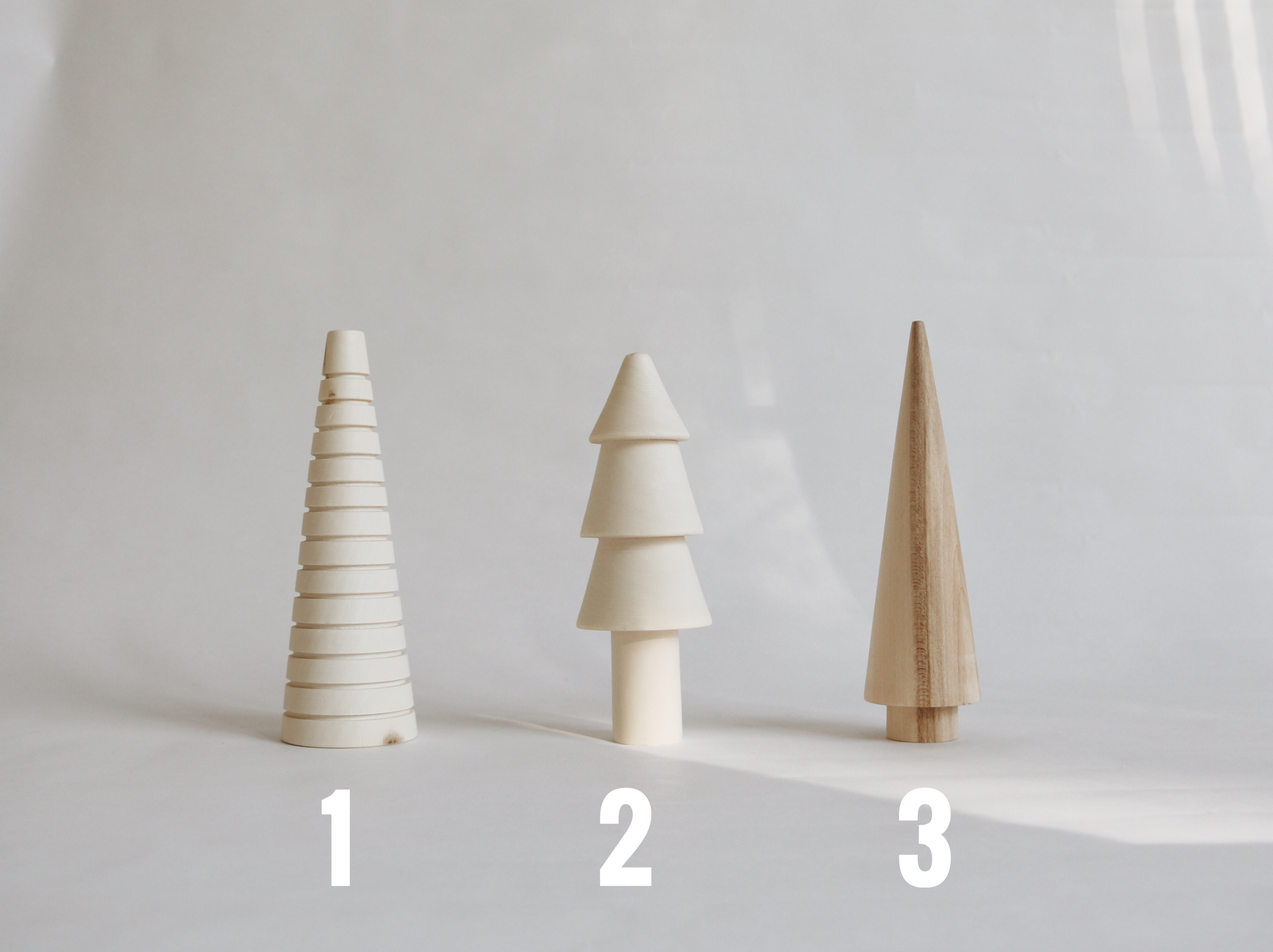 IN STOCK! Classic Wooden Trees - Choose your shapes!