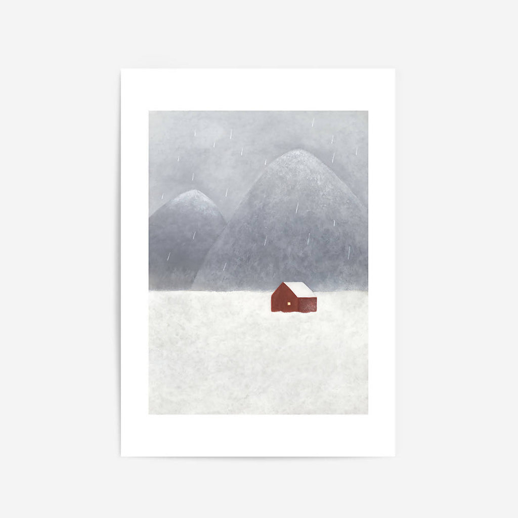 Wet Snow It ART PRINT