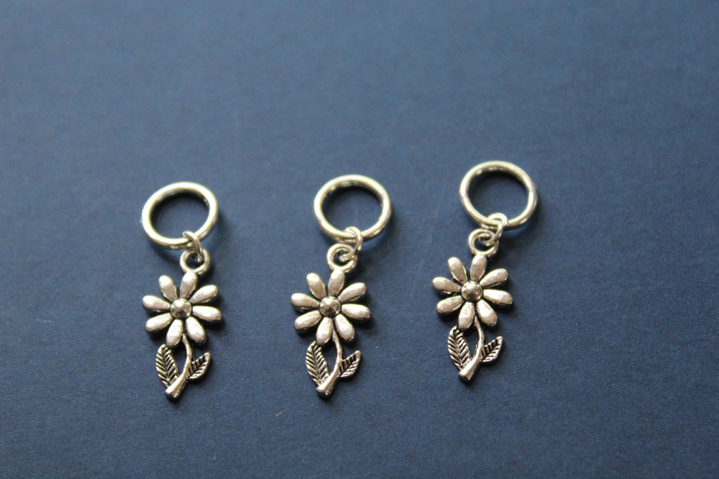 Daisy Flower Knitting Stitch Markers