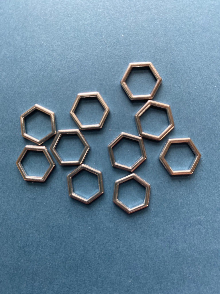 Hexagon Stitch Markers