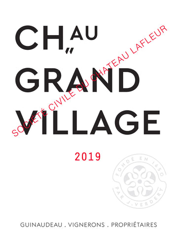 Château Grand Village Rouge 2019
