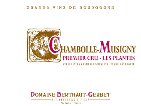 Chambolle-Musigny Les Plantes 1er Cru 2018