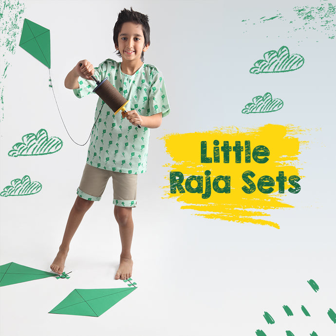 Kite Raja Top & Short Set