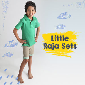 Kite Raja Polo & Short Set