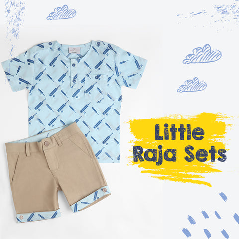 Cricket Raja Top & Short Set