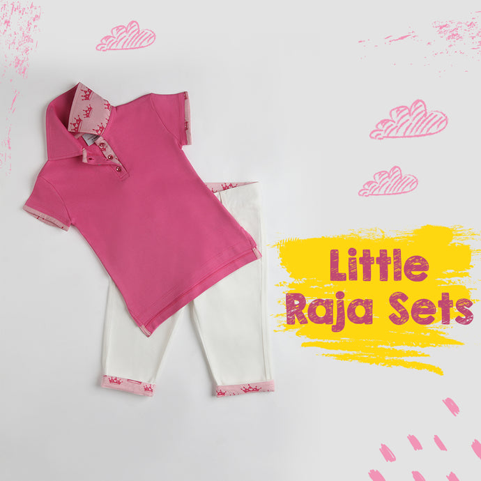 Tiara Rani Polo & Capri Set