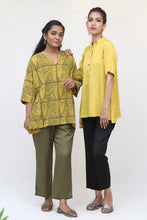 Load image into Gallery viewer, Yellow Short Sleeve Top